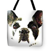 French Bulldog Art - High Contrast Tote Bag