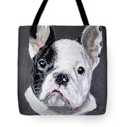 French Bulldog Close Up Tote Bag