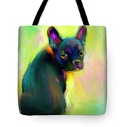 French Bulldog Painting 4 Tote Bag