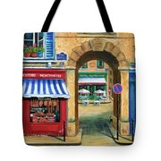 French Butcher Shop Tote Bag