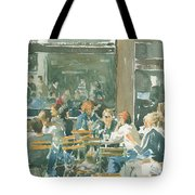 French Cafe Scene  Tote Bag by Ian Osborne