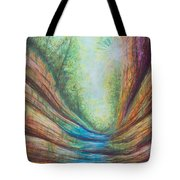 French Canyon At Starved Rock State Park Tote Bag