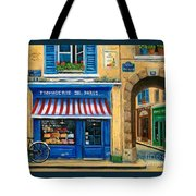 French Cheese Shop Tote Bag