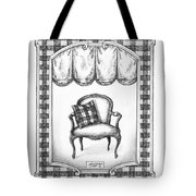 French Country Fauteuil Tote Bag