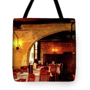 French Country Restaurant Tote Bag