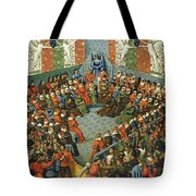 French Court, 1458 Tote Bag