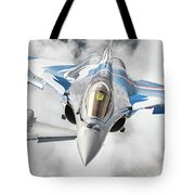 French Dassault Rafale Formation 1 Tote Bag