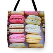 French Delicious Dessert Macaroons Tote Bag