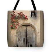 French Doors And Ghost In The Window Tote Bag