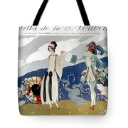 French Fashion Ad, 1923 Tote Bag