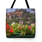 French Flowers Tote Bag