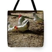 French Fowl Tote Bag