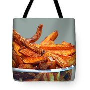 French Fries On The Boards Tote Bag