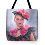 French Girl Tote Bag