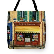 French Hats And Purses Boutique Tote Bag by Marilyn Dunlap