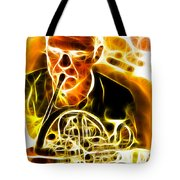 French Horn Tote Bag by Stephen Younts