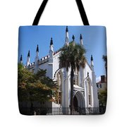 French Huguenot Church In Charleston Tote Bag