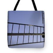 French Moulin Blades Tote Bag