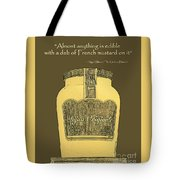 French Mustard Or Mustard King Tote Bag