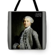 French Nobleman At The Court Of Versailles -1788 V A  Tote Bag