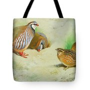 French Partridge By Thorburn Tote Bag