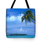 French Polynesia, Bora Bo Tote Bag
