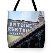 French Quarter 12 Tote Bag
