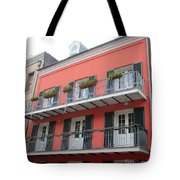 French Quarter 21 Tote Bag