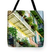 French Quarter Balconies - Nola Tote Bag