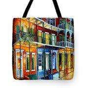 French Quarter Charm Tote Bag