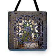 French Quarter Courtyard Tote Bag