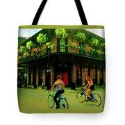 French Quarter Flirting On The Go Tote Bag