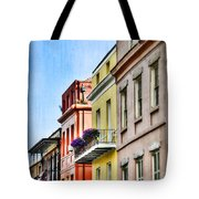 French Quarter In Summer Tote Bag