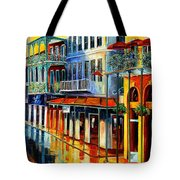 French Quarter Sunrise Tote Bag
