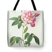French Rose Tote Bag by Pierre Joseph Redoute