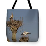 French Storks 01 Tote Bag