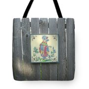 French Tile Colored 3 Tote Bag