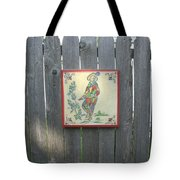 French Tile Colored 4 Tote Bag