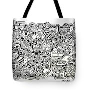 French Toast Tote Bag by Chelsea Geldean