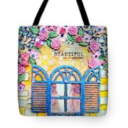 French Window  Tote Bag