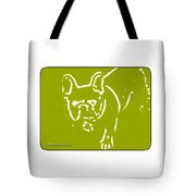 Frenchielove Design Chartreuse Tote Bag