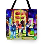 Frenchman Street Tote Bag