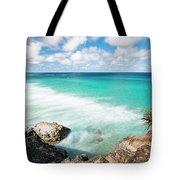 Frenchmans Beach On Stradbroke Island, Queensland. Tote Bag