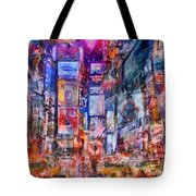 Frenzy New York City Tote Bag