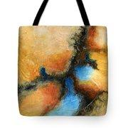 Fresh Air Abstract Tote Bag