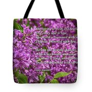 Fresh And Fearless Tote Bag