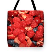 Fresh Berry Salad  Tote Bag