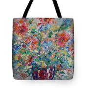 Fresh Bouquet Tote Bag