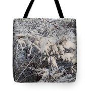 Fresh Coat Of Snow Tote Bag