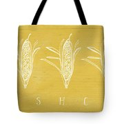 Fresh Corn- Art By Linda Woods Tote Bag by Linda Woods